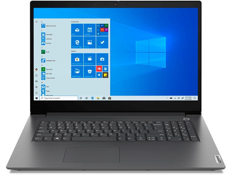 Ноутбук Lenovo V17-IIL 82GX0000RU (Intel Core i5-1035G1 1.0Ghz/8192Mb/256Gb SSD/Intel UHD Graphics/Wi-Fi/Bluetooth/Cam/17.3/1920x1080/Windows 10 Pro) ноутбук lenovo v17 iil intel core i3 1005g1 1200mhz 17 3 1920x1080 8gb 256gb ssd dvd нет intel uhd graphics wi fi bluetooth dos 82gx007qru iron grey