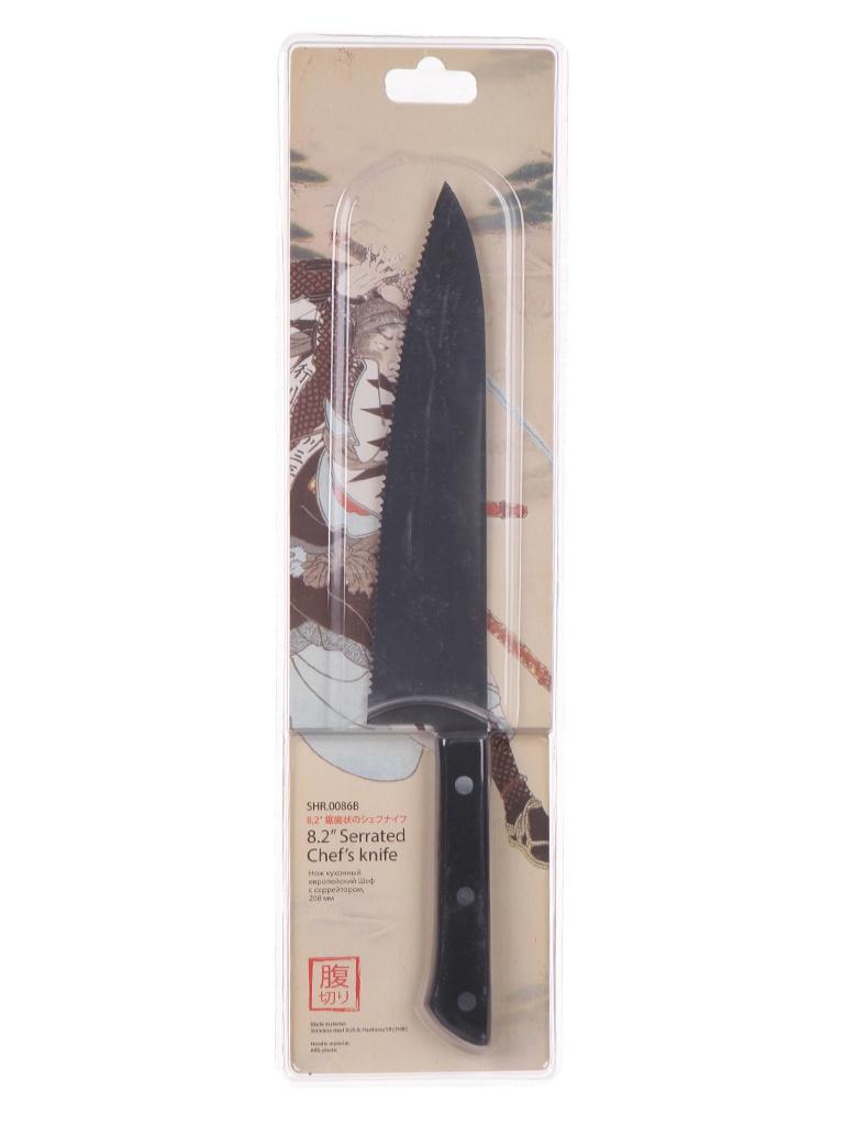 Нож Samura Harakiri SHR-0086B/K - длина лезвия 208мм