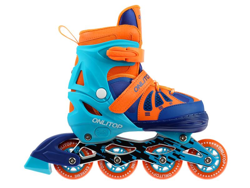 Коньки Onlitop Abec 7 р.L 38-41 Blue-Orange 4605225