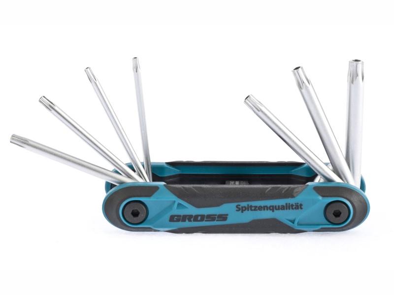 Набор ключей Gross Tamper-Torx TT10-TT40 16413