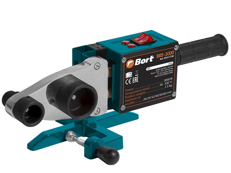 Аппарат для сварки пластиковых труб Bort BRS-3000 93411720