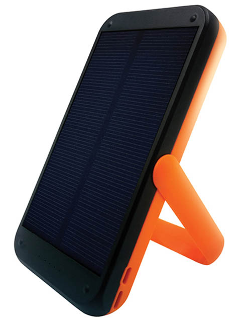 Внешний аккумулятор Qumo Power Bank PowerAid Tourist Solar 2 Charger 0023 8000mAh 24358