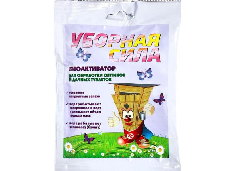 Биоактиватор Уборная сила 75г