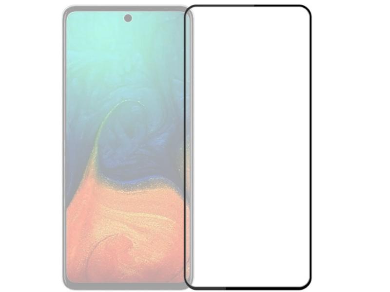 Защитное стекло Activ для Samsung SM-A525 Galaxy A52 Full Screen Activ Clean Line 3D Black 126453