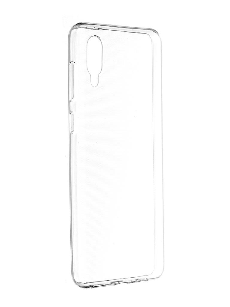 Чехол iBox для Samsung Galaxy A02 Crystal Silicone Transparent УТ000023933 чехол ibox для samsung galaxy m21 crystal silicone transparent ут000021234
