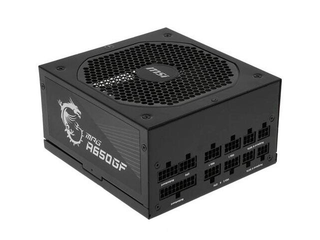 Фото - Блок питания MSI MPG A650GF 650W компьютерный корпус msi mpg gungnir 110m