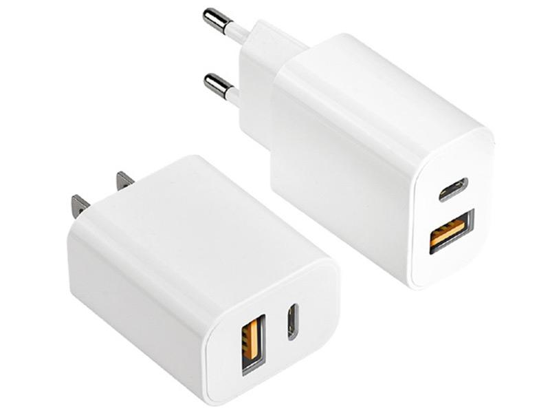 Зарядное устройство COTEetCI Smart Charger Type-C + USB CS8870-U