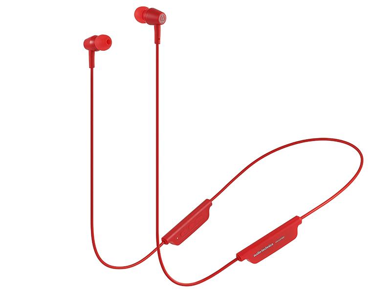 Наушники Audio-Technica ATH-CLR100BT RD
