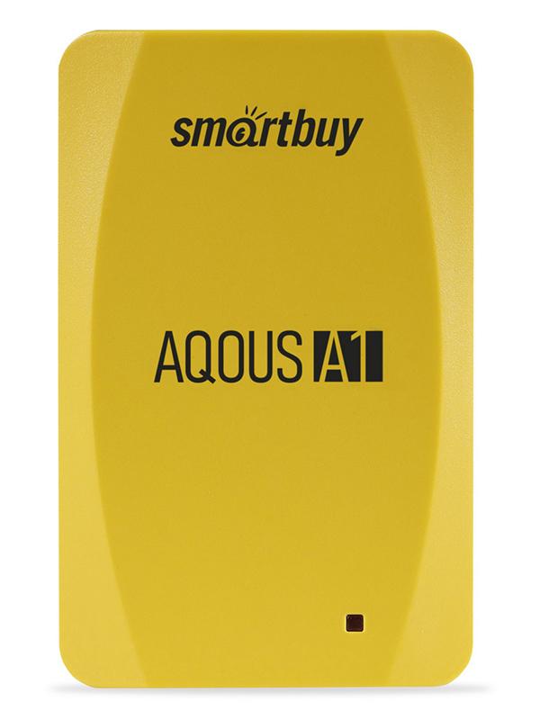 Фото - Твердотельный накопитель 128Gb - SmartBuy A1 Drive USB 3.1 Yellow SB128GB-A1Y-U31C внешний ssd smartbuy s3 drive 128gb sb128gb s3bs 18su30