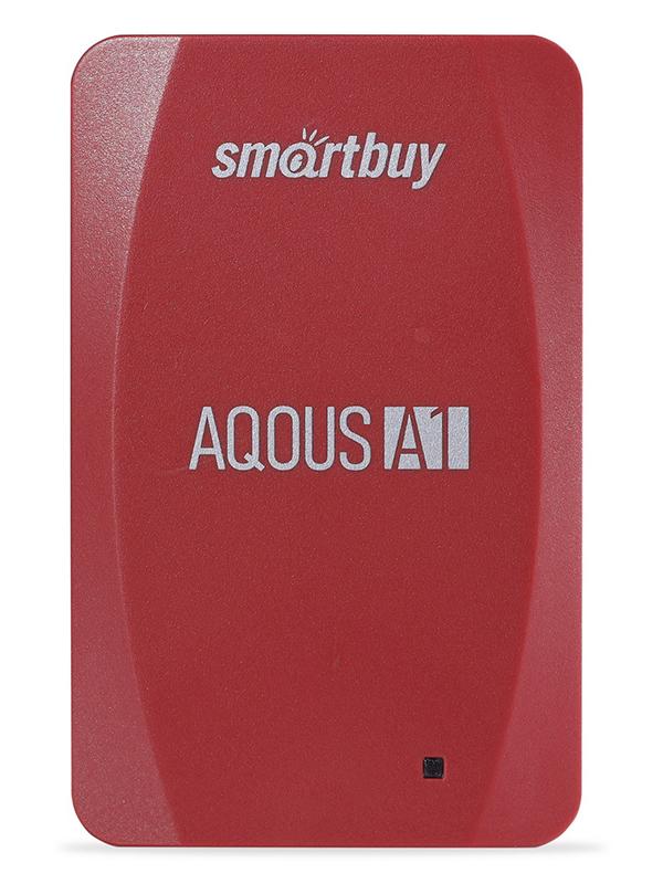 Фото - Твердотельный накопитель 128Gb - SmartBuy A1 Drive USB 3.1 Red SB128GB-A1R-U31C внешний ssd smartbuy s3 drive 128gb sb128gb s3bs 18su30