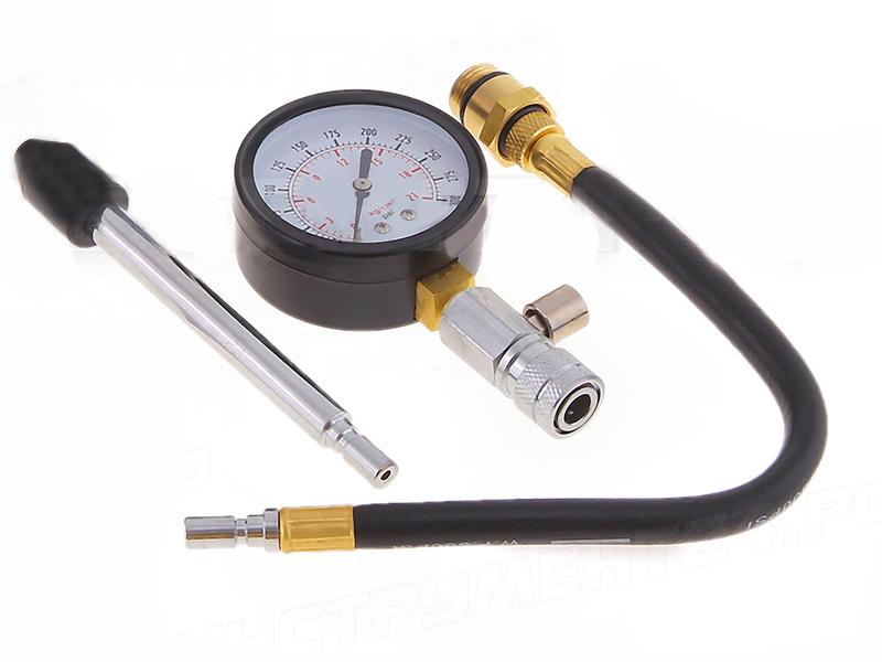 Компрессометр АвтоDело для бензиновых/дизельных двигателей 40063