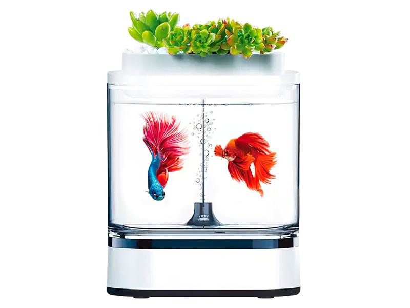 Аквариум Xiaomi Geometry Mini Lazy Fish Tank Pro C300