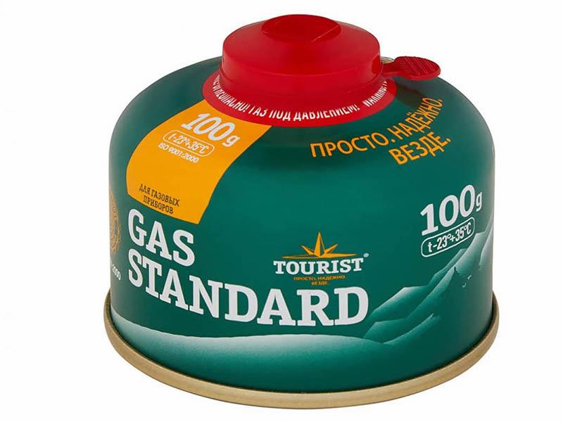 Газовый баллон Tourist Gas Standard 100g TBR-100