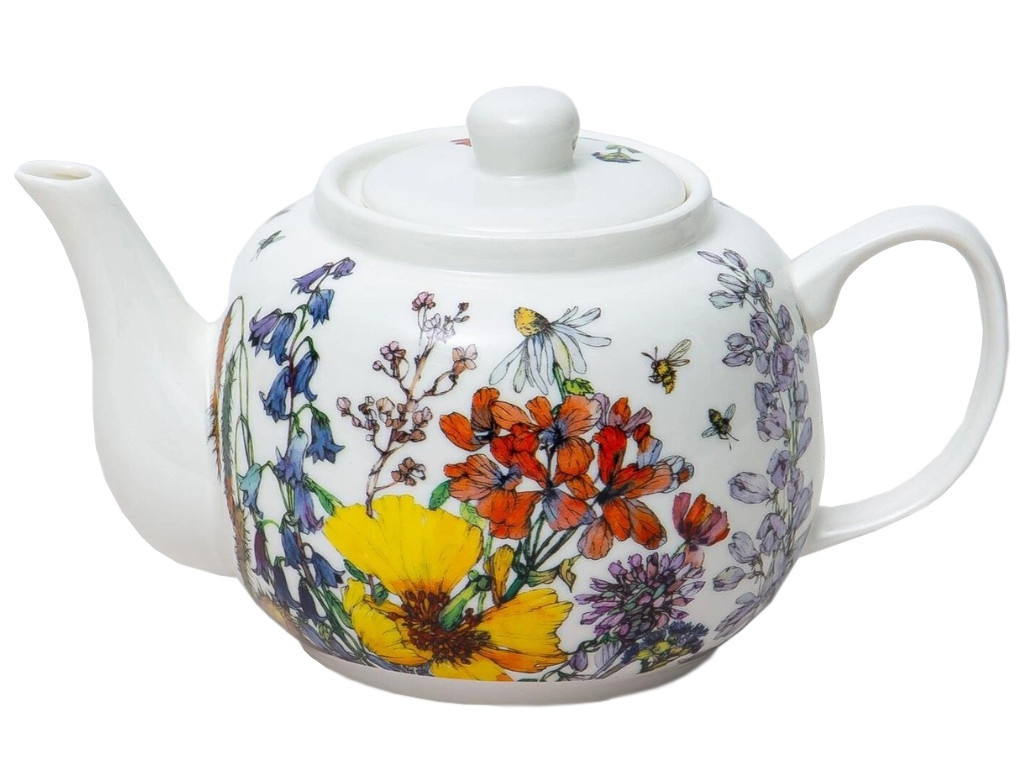 Заварочный чайник Balsford Полевые цветы 950ml 169-40009 набор тарелок balsford полевые цветы 550 мл 2 предмета арт 169 40004
