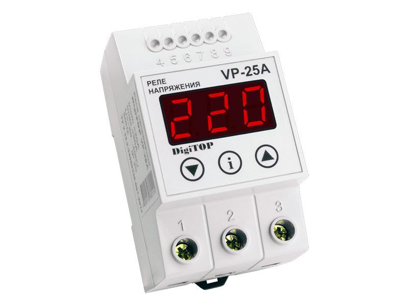 Реле контроля напряжения Digitop VP-25A
