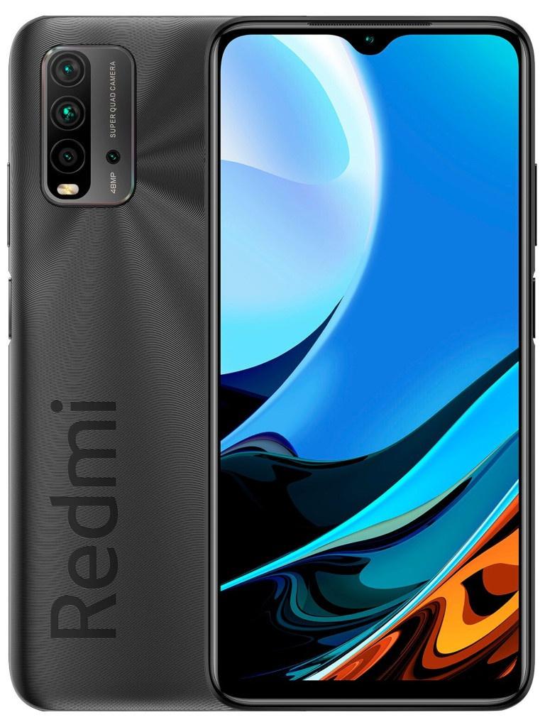 Сотовый телефон Xiaomi Redmi 9T 4/128Gb Grey Выгодный набор + серт. 200Р!!! сотовый телефон vsmart joy 3 4 64gb purple topaz