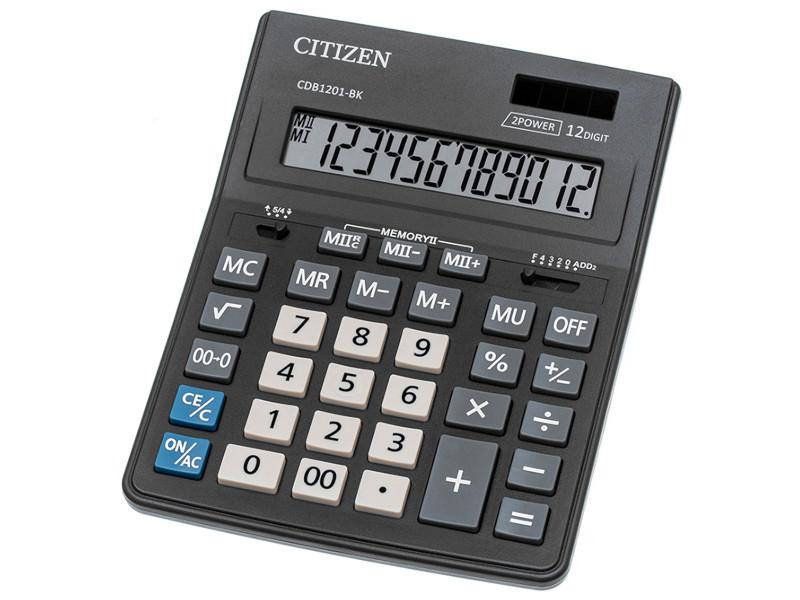 Калькулятор Citizen Bussiness Line CDB1201-BK