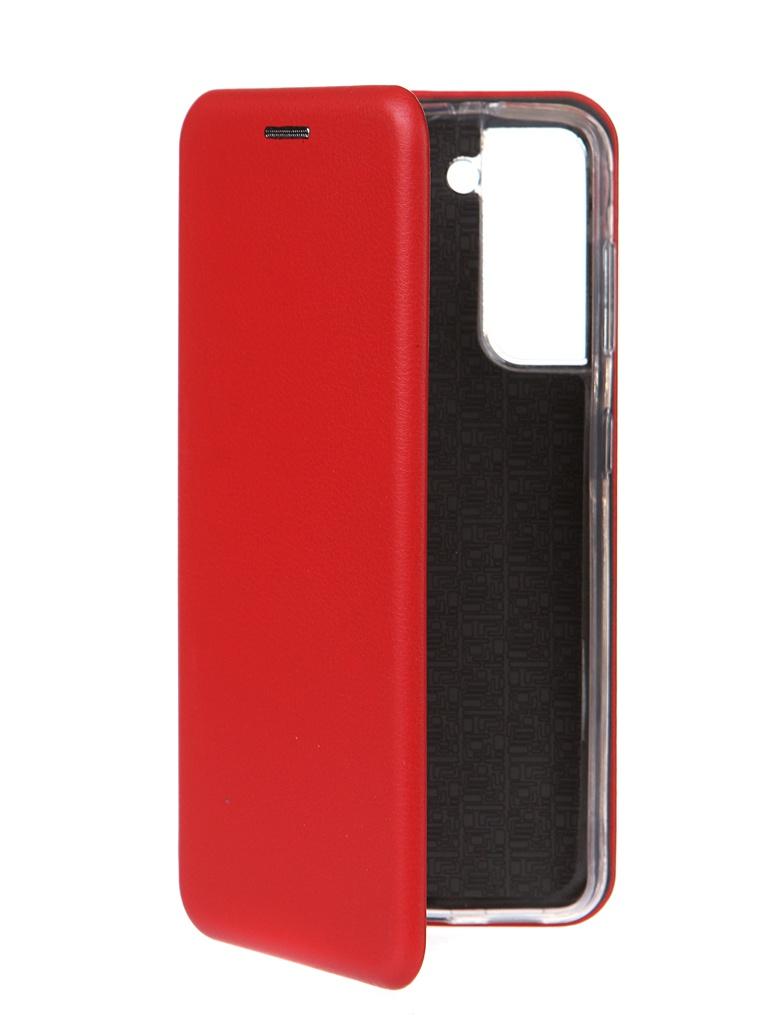 Чехол Zibelino для Samsung Galaxy S21 Book Red ZB-SAM-S21-RED