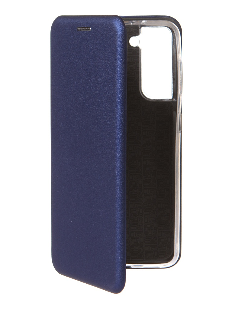 Чехол Zibelino для Samsung Galaxy S21 Book Blue ZB-SAM-S21-BLU