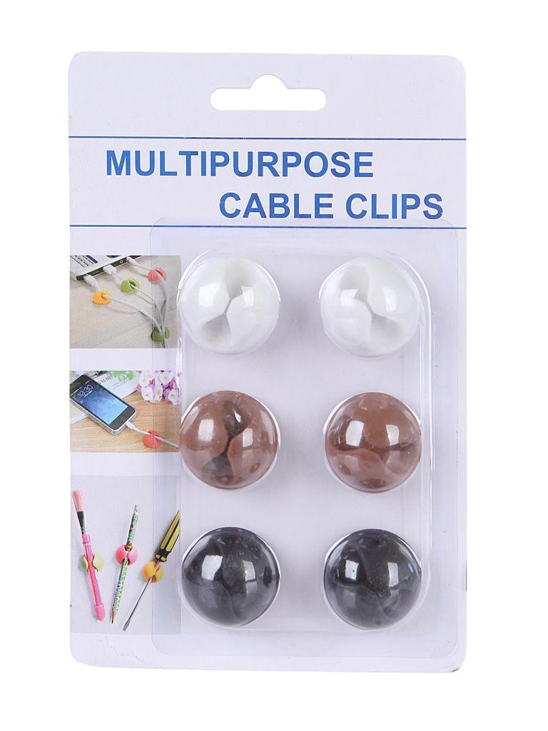 Комплект клипсы-держатели для фиксации проводов ZDK Bluelounge CableDrop BLUCD-BR