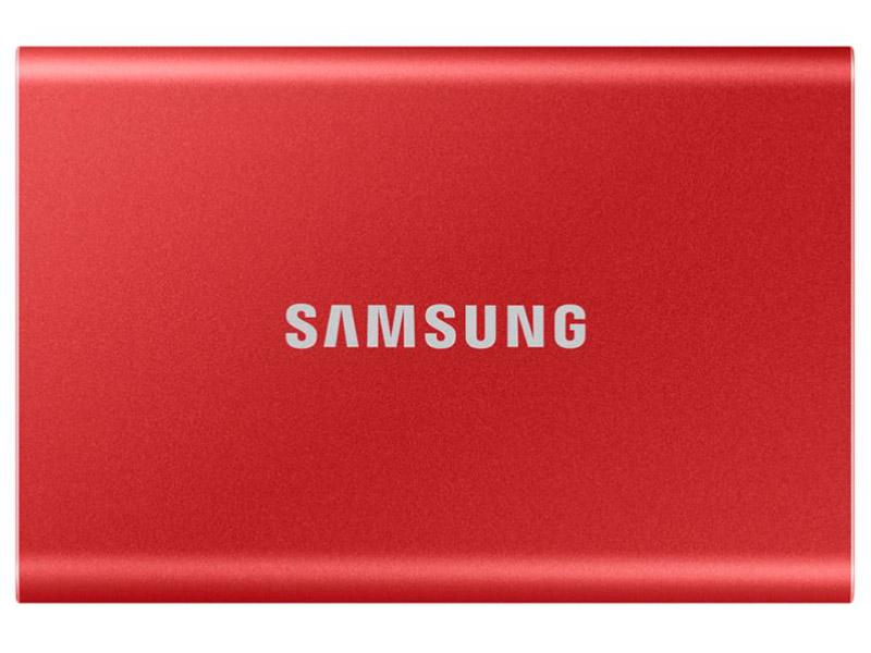 Твердотельный накопитель Samsung T7 2Tb MU-PC2T0R/WW