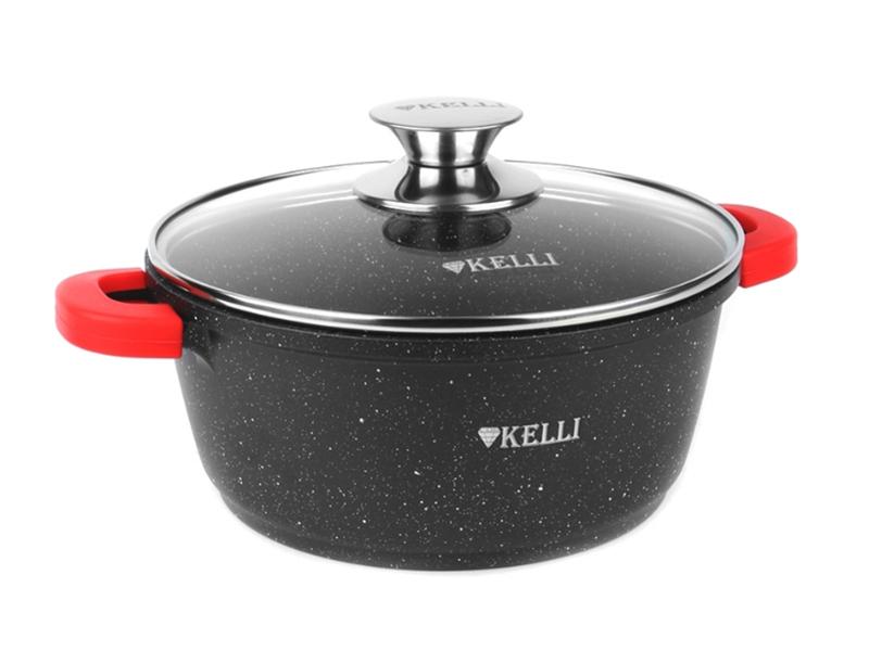 Кастрюля Kelli 8L KL-4000-28
