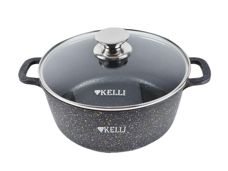 Кастрюля Kelli 8L KL-4092-28