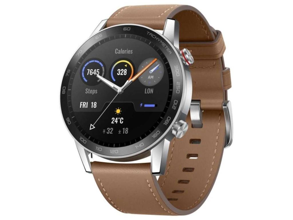 Умные часы Honor Magic 2 46mm MNS-B39V / MNS-B19V Brown 55026742 / 55024944 смарт часы honor watch magic 2 mns b19s 1 39 черный черный [55024945]