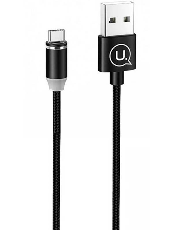 Фото - Аксессуар Usams U-Sure Series US-SJ293 USB - USB Type-C 1m Black SJ293USB01 us imports bussmann fuses fwh 200a fuse fwh 200b 500v 200ka