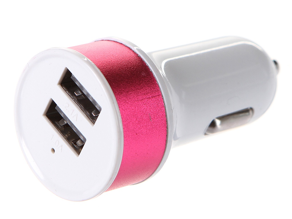 Фото - Зарядное устройство Media Gadget CPS-110UC 2xUSB 2.1A/1A Pink MGCPS110UCPK зарядное устройство media gadget hps 110uc usb type c power delivery white mghps110ucwt