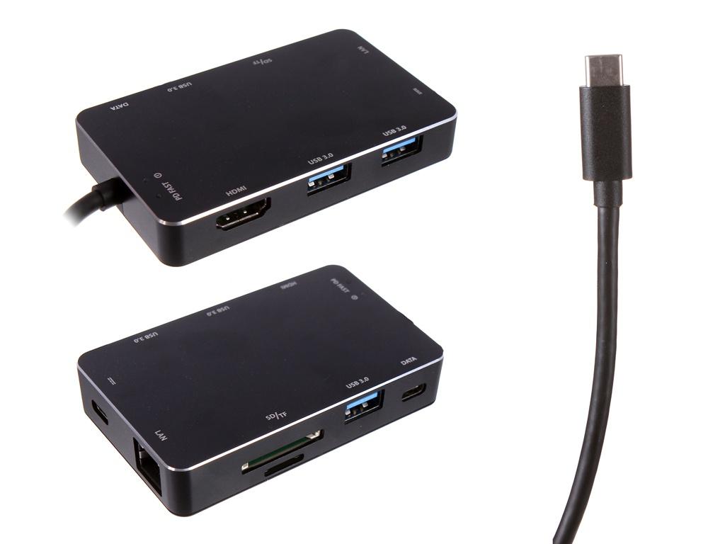 Фото - Хаб USB Speed Dragon Type-C Multi-Interface HUB FG-CHPDC3ALR-1MB-BU01 adidas performance men s nitrocharge 2 0 fg soccer shoe