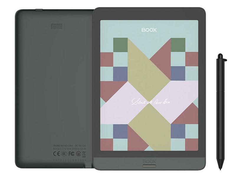 Фото - Электронная книга Onyx Boox Nova 3 Color 32Gb Black электронная книга onyx boox boox nova 3 32 гб черный