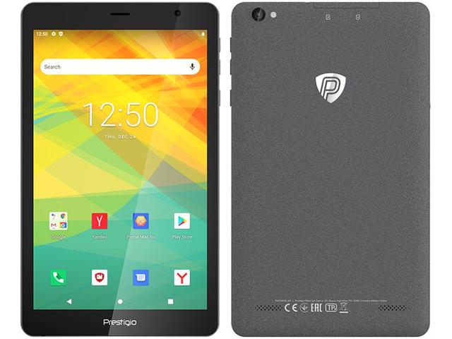Планшет Prestigio Node A8 Grey PMT4208_3G_E (Spreadtrum SC7731E 1.3GHz/1024Mb/32Gb/3G/Wi-Fi/8.0/1280x800/Android) Node A8 PMT4208_3G_E