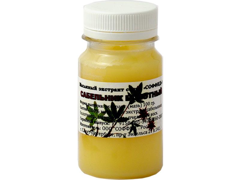 Мазь на пчелином воске Соффид Сабельник болотный 100g