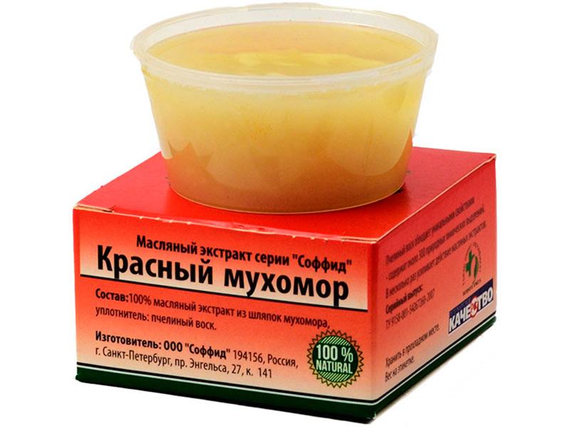 Масляный экстракт Соффид Красный мухомор 50g