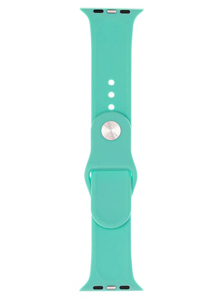 Аксессуар Ремешок Evolution для Apple Watch 42/44mm Sport Silicone New Mint AW44-S01