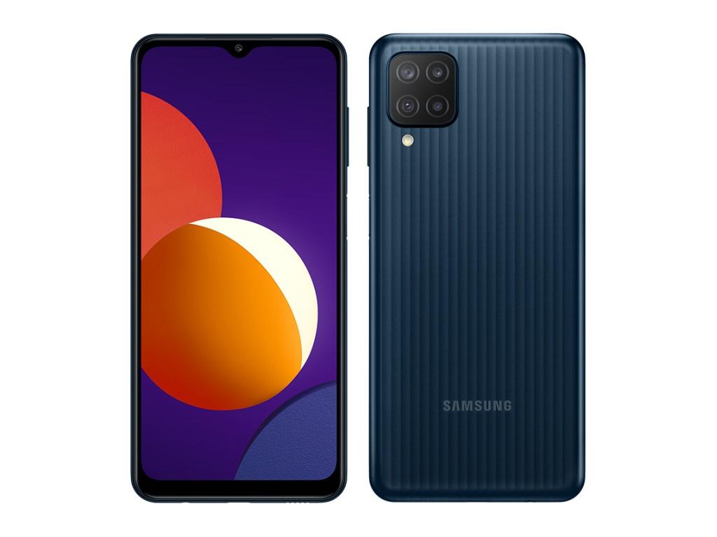 Сотовый телефон Samsung SM-M127F Galaxy M12 3/32Gb Black сотовый телефон samsung sm m127f galaxy m12 3 32gb light blue