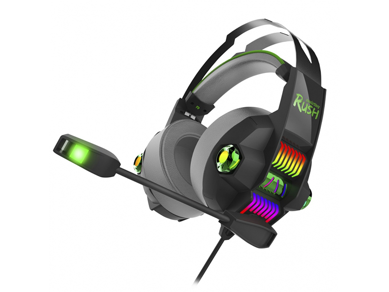 Наушники SmartBuy Rush Stormer Black-Green SBHG-5200