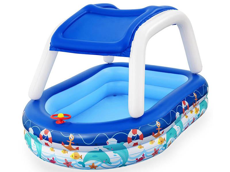 Детский бассейн BestWay Sea Captain 213x155x132cm 54370