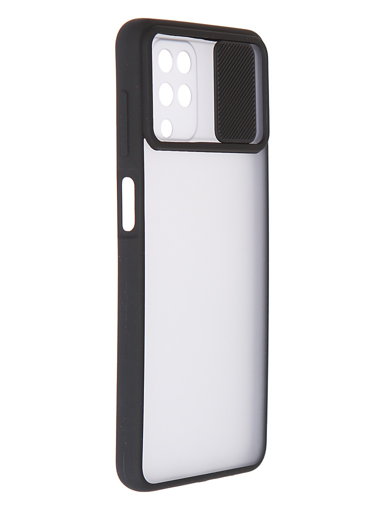 Чехол LuxCase для Samsung Galaxy A12 TPU+PC 2mm Black 63236