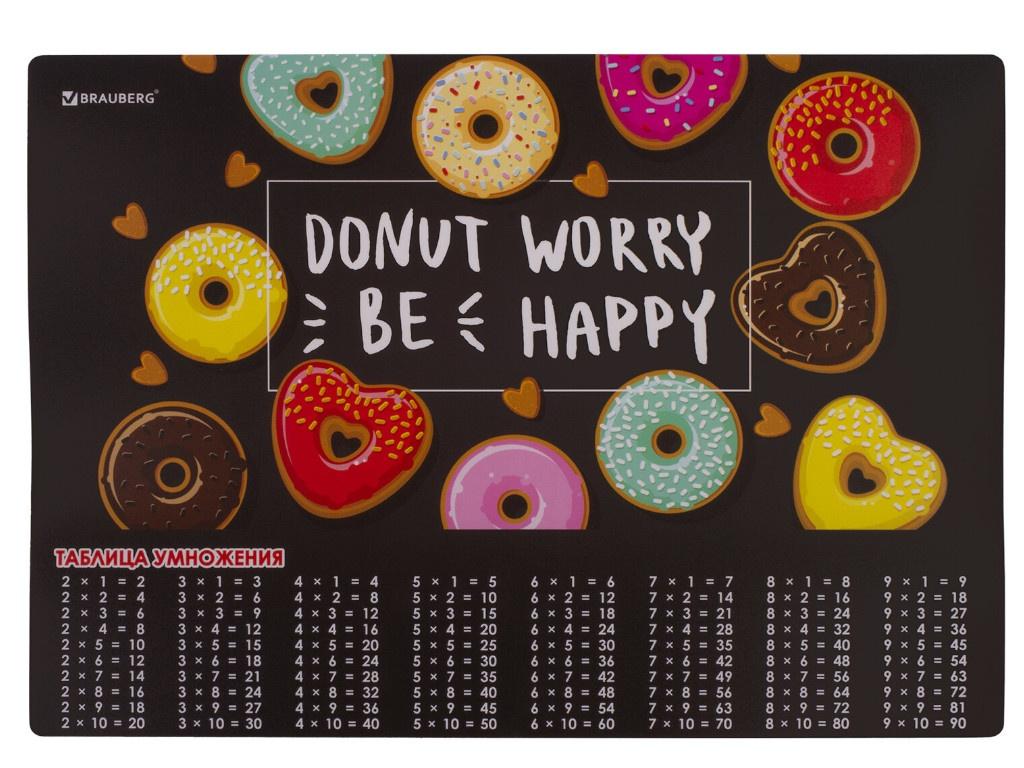 Настольное покрытие Brauberg Donut 46x33cm 270399