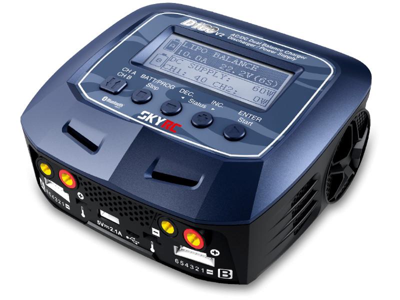 Зарядное устройство SkyRC D100 V2 AC/DC SK-100131-02