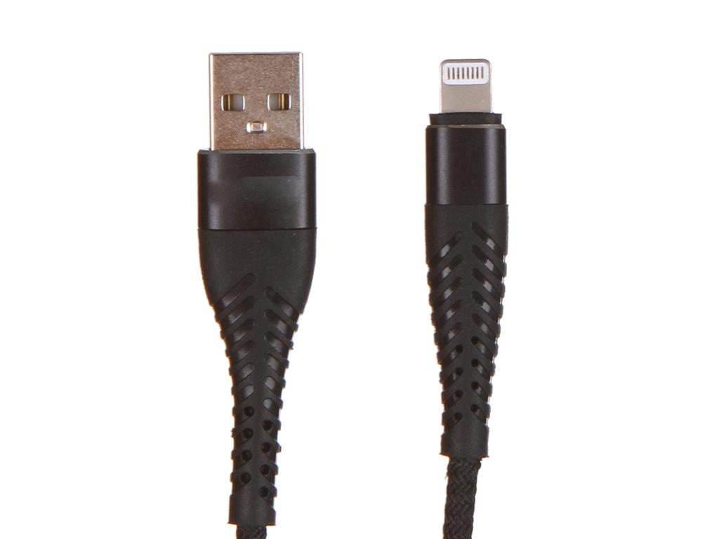 Аксессуар WIIIX USB - Lightning 1m Black CB720-U8-2A-10B
