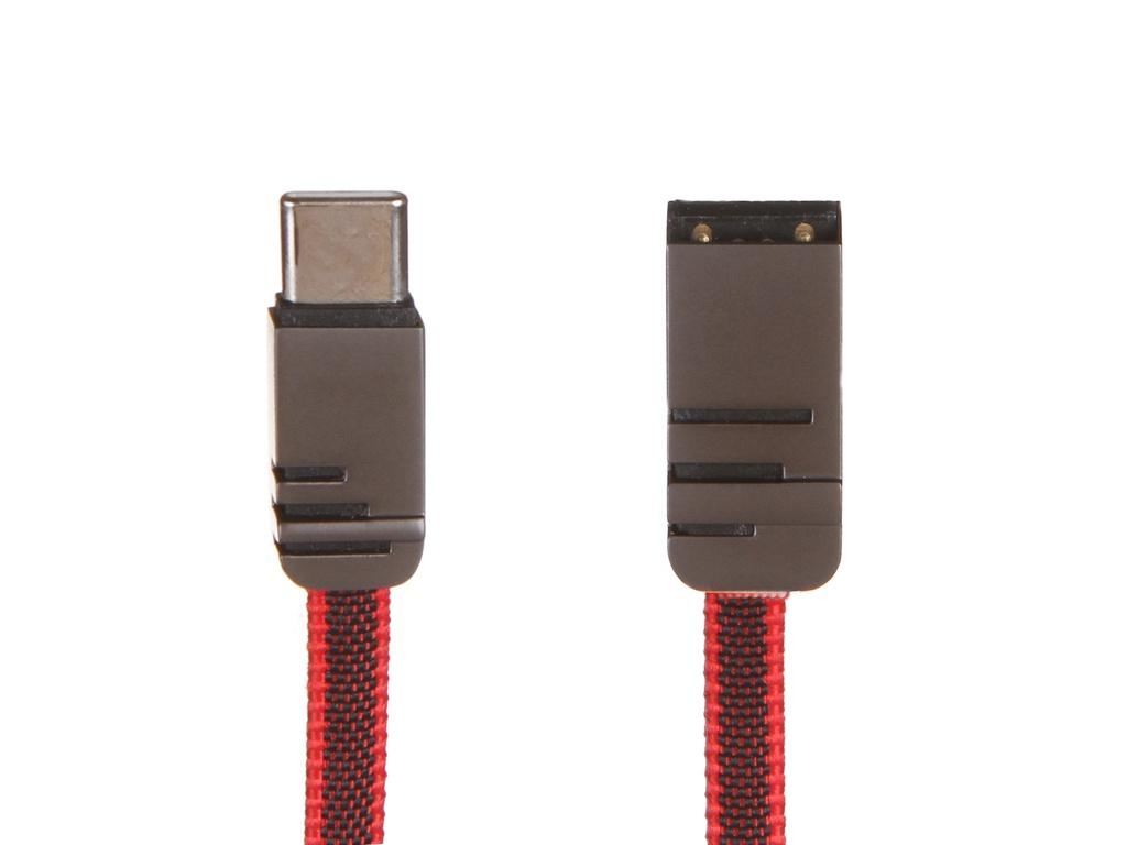 Фото - Аксессуар WIIIX USB - Type-C 1m Red CB730-UTC-2A-CU-10R аксессуар wiiix type c red cb300 utc 2a 10r