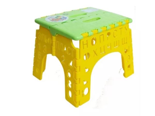 Табурет Elan Gallery Алфавит Lime Green-Yellow 640224
