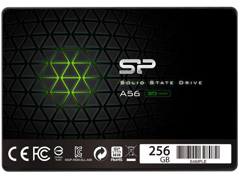 Твердотельный накопитель Silicon Power A56 256Gb SP256GBSS3A56B25 Выгодный набор + серт. 200Р!!!