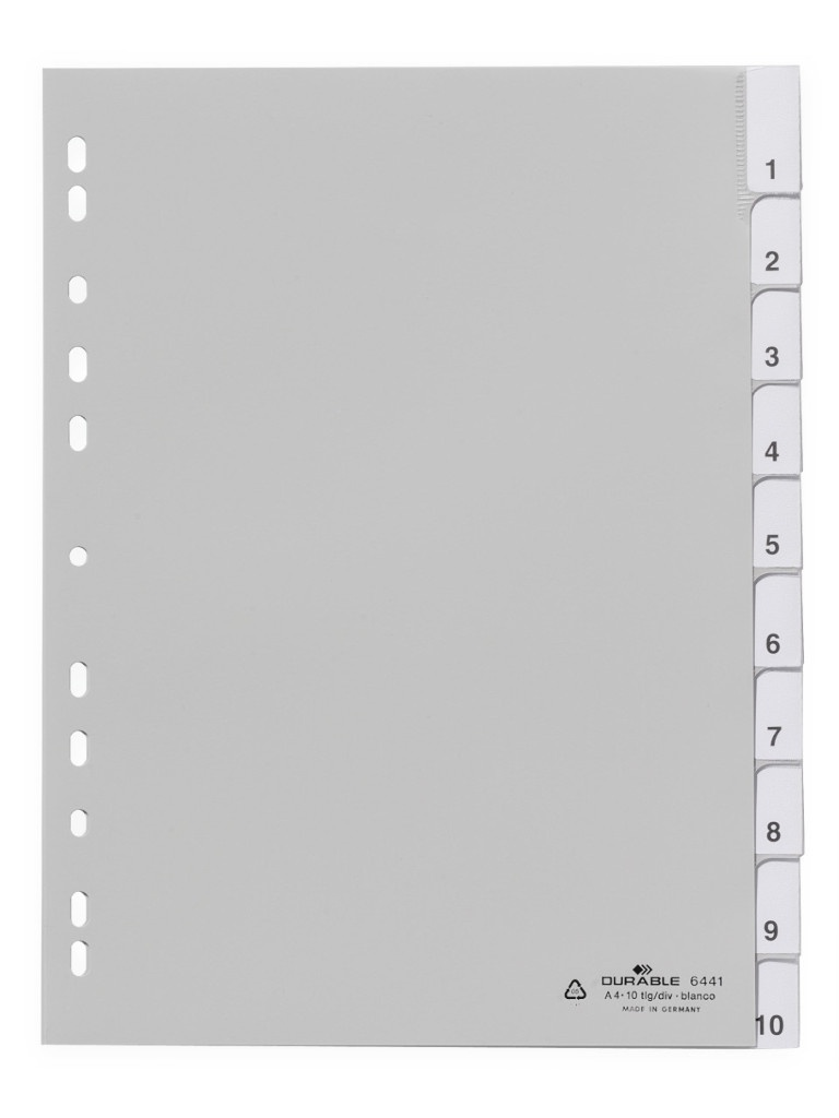 Разделитель пластиковый Durable 644110