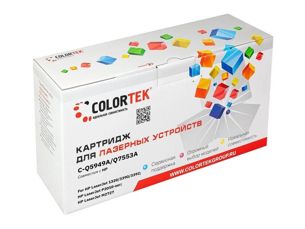 Картридж Colortek (схожий с HP Q5949A/Q7553A) для HP LJ P2010/P2014/P2015 3K
