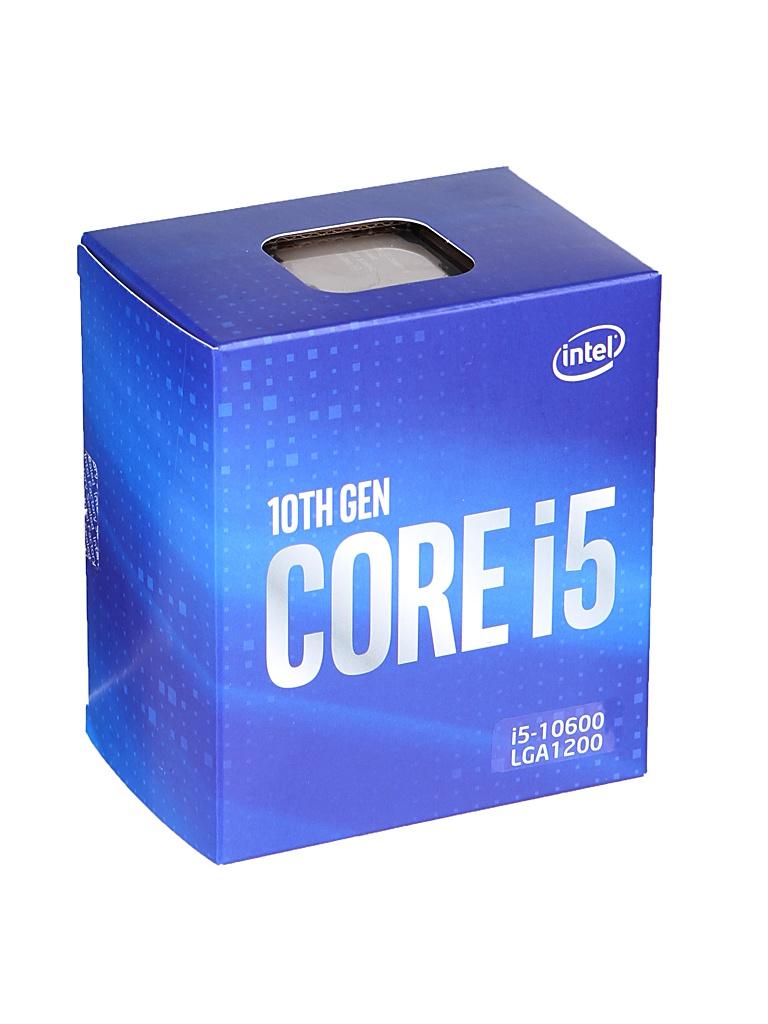 Процессор Intel Core i5-10600 (3300MHz/FCLGA1200/12288Kb) BOX