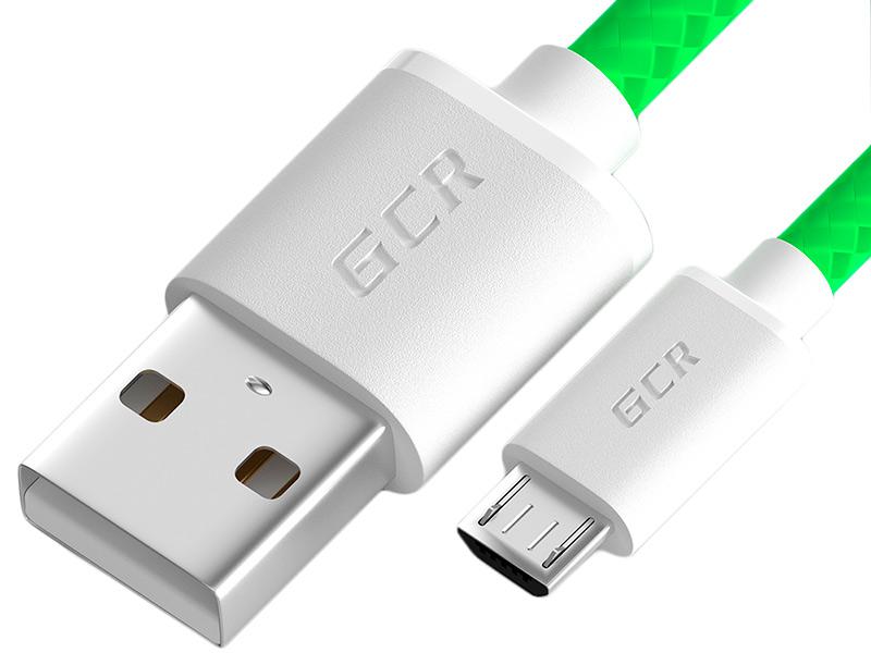 Фото - Аксессуар GCR USB to MicroUSB 1.5m GCR-51702 аксессуар gcr mercedes